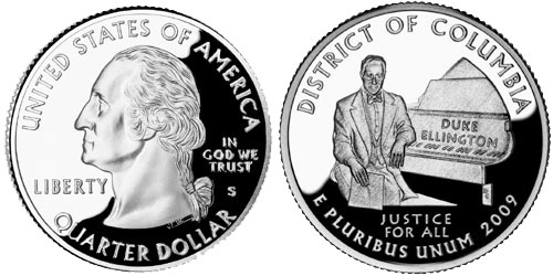 2009 District of Columbia Quarter